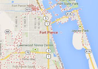 Map Of Fort Pierce Florida.Fort Pierce Fl Hvac Broward Factory Service